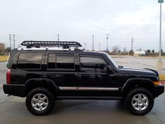 Several things done this weekend, including lift. - Jeep Commander Forums: Jeep Commander Forum
