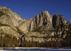 Yosemite Falls, Feb 2013 by James Wilson