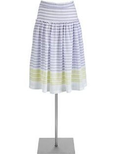 Mixed Stripe Skirt. (reminded me of something more expensive from another store, that was lso no longer in my size)