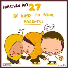 """day 27 """"be kind to your parents"""""""
