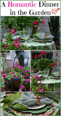 Enjoy Dining Outdoors for Summer