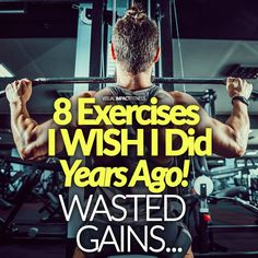 I have trained in a commercial gym for 30 years. When you have trained that long you typically find increasingly more effective exercise variations. If I could go back in time I would have done an entirely different exercise routine 30 years ago. Workout Plan For Men, Workout Routine For Men, Weekly Workout Plans, Workout Ideas, Build Muscle Mass, Gain Muscle, Strength Training Workouts, Weight Training, Gym Workouts