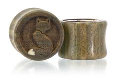 Foxes Fox Wood Plugs Gauges from Omerica Organic. Use Rep Code SWEETLE at checkout for 20% off your first purchase!