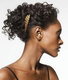 Penteados em cabelo afro