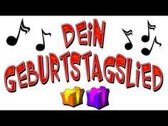 Happy Birthday Song Lustig, Birthday Songs, Birthday Cake, Happpy Birthday, German English, In God We Trust, Reality Check, Encouragement, Germany