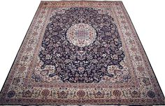Very beautiful fine quality Pak Persian rug from Pakistan. The rug uses fine round wool and silk and has high knot count.  http://www.alrug.com/4281