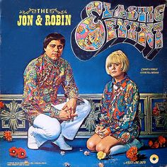 RARE ALBUM COVER FROM THE LEGENDARY MUSIC SENSATION, JON & ROBIN AND THEIR WORLD FAMOUS ELASTIC EVENT!!!