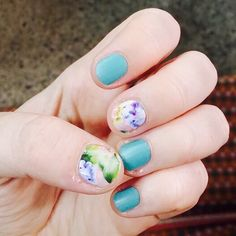Athens   Faded Bouquet   Manicure   DIY   Jamberry Nails   SoooJamGood