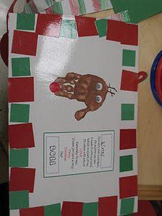 Reindeer Placemat so cute!