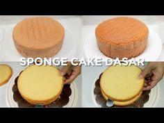 SPONGE CAKE DASAR TANPA PENGEMBANG DAN EMULSIFIER // BASIC SPONGE CAKE #BASICS - YouTube Sponge Cake, Cornbread, Vanilla Cake, Tiramisu, Cake Decorating, Protein, Cheesecake, Lemon, Ethnic Recipes