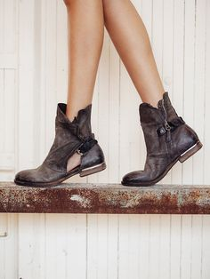 This website is killing me!  Love these boots!!!  Free People Krist Ankle Boot, $325.00