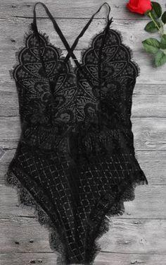 Lace Teddy Bodysuit