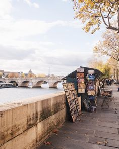 Favorite place: Along the banks of the Seine River with les bouquinistes nearby.