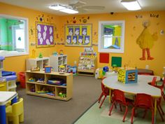 Daycare room ideas daycare room ideas daycare design ideas daycare room themes childcare room ideas for toddlers Home Daycare Rooms, Childcare Rooms, Preschool Rooms, Preschool Centers, Daycare Spaces, Toddler Daycare Rooms, Preschool Classroom Layout, Classroom Themes, Daycare Setup