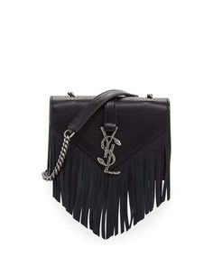 dd97770137 Shop monogram baby chain serpent crossbody bag black from Saint Laurent in  our fashion directory.
