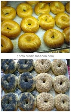 "Recipe and Video: Homemade Bagels - John D. Lee - Another pinner said: ""recipe from a guy who owned a bagel restaurant for years. He gives great tips. 6 ingredients + kitchenaid mixer = EASY!"""