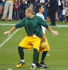 Haha! Clay Matthews and Mason Crosby