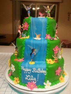 Tinkerbell Cake for Granddaughter...