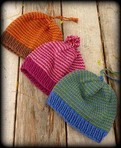 Ravelry: Helix Striped Hat pattern by Corrie Purdum