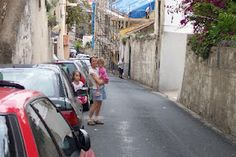 Narrow Streets in Gibraltar
