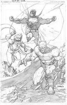 Drawing Dc Comics A Few DC Comics Covers For May, From Jim Lee, Nick Bradshaw, Gary Frank And Whilce Portacio - Wake up! Bright and early! Spring into action! And browse through a few upcoming covers and . Comic Book Artists, Comic Book Characters, Comic Artist, Comic Character, Comic Books Art, Arte Dc Comics, Dc Comics Art, Character Drawing, Character Design