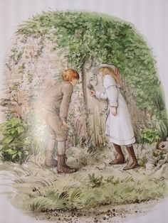 The Secret Garden, illustrated by Graham Rust