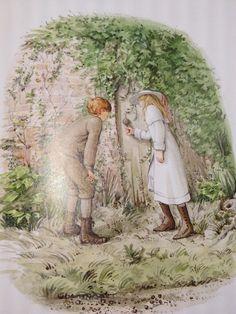 The Secret Garden, illustrated by Graham Rust