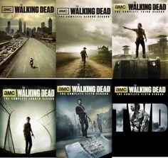 The Walking Dead Seasons 1-6 (DVD)