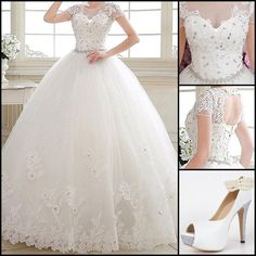 I want to wear the wedding dress on my big day!