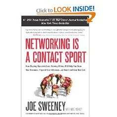 Networking is a Contact Sport.