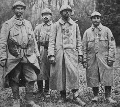 World War 1 - French soldiers : The Poilus