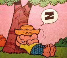 Chico Bento tira uma soneca,ilustração Maurício de Sousa.