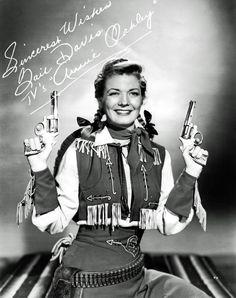 Gail Davis as Annie Oakley, 1950s