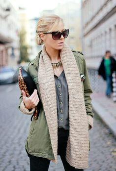 Woman style. #fashion #winter