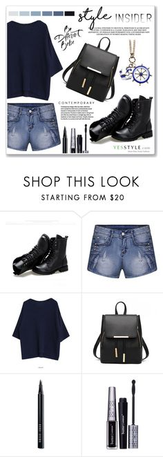 """""""yesstyle contest"""" by nanawidia ❤ liked on Polyvore featuring Sunsteps, Seed Design, Bobbi Brown Cosmetics, Butter London, Chicnova Fashion, weekend, getaway and yesstyle"""