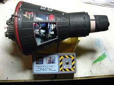 Project Mercury Capsule Space Program Plastic Model in 1/12 Scale. @ http://www.hobbylinc.com/cgi-bin/pic.cgi?t=pics_user_gallery&item_i=12713