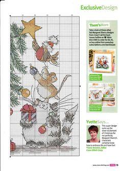 Xmas Cross Stitch, Cross Stitch Christmas Ornaments, Cross Stitch Needles, Christmas Cross, Cross Stitch Charts, Counted Cross Stitch Patterns, Cross Stitch Designs, Cross Stitching, Cross Stitch Embroidery