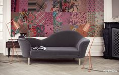 Creative Wall Mural by myloview #patchwork