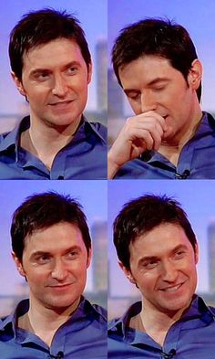 Richard Armitage, forty years old and he still makes my knees wobble