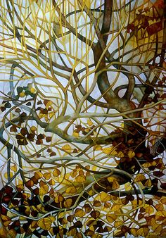 Yellow Leaves, by Elisabetta Trevisan