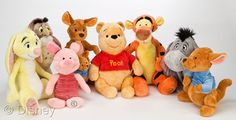 winnie the pooh roo baby plush toys   Winnie The Pooh plush toys are 11″-16″ tall. That makes them the ...