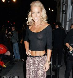 But it's an underwear launch! Strictly Come Dancing's Natalie Lowe bared all as she went bra-less in a sheer top for Helena Christensen's Triumph collection showcase last night Hottest Female Celebrities, Beautiful Celebrities, Gorgeous Women, Celebs, Strictly Dancers, Strictly Come Dancing, Dancing With The Stars, Sexy, How To Wear