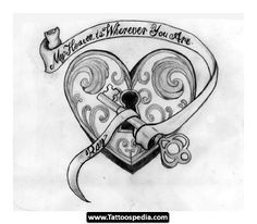 lock+and+key+tattoo | Lock And Key Tattoos 02