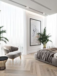 Mid-Century Bedroom Decor Tips & Tricks to Make This Bedroom Decor Last You Seasons and Seasons. Decorating a bedroom decor might be one of the biggest hardship Home Bedroom, Modern Bedroom, Bedroom Decor, Bedroom Ideas, Contemporary Bedroom, Bedroom Furniture, Bedroom Romantic, Dream Bedroom, Hotel Bedroom Design