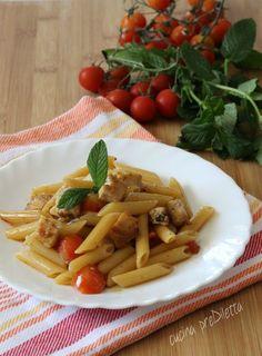 Pasta con pesce spada e menta - ricetta siciliana | cucina preDiletta