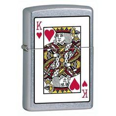 ZIPPO KING OF HEARTS €34