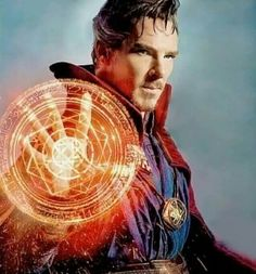 First official Dr Strange picture..... Benedict Cumberbatch in a marvel movie is a dream come true