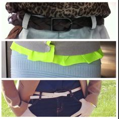 Waisted #belts #neon #spring
