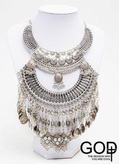 Collar Boho Silver