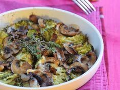 Découvrez la recette Gratin de brocoli aux champignons sur cuisineactuelle.fr.